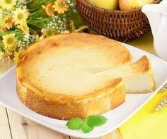 Ingredienti per 6-8 persone: 600 gr di ricotta 100 gr di zucchero 100 ml di panna fresca per dolci 80 gr di fecola 3 uova scorza grattugiata di 1 limone 1