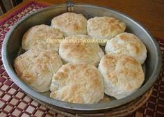 Mama's Cathead Biscuits/ from The Southern Lady Cooks