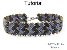 Bracelet Beading Tutorial Pattern Miyuki by SimpleBeadPatterns