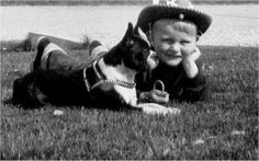 Boston Terrier and the cowboy! #bostonterrier