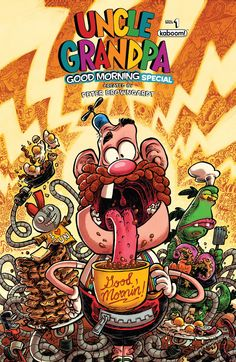 Comic Book Preview: Uncle Grandpa 2016 Good Morning Special #1