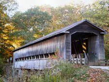 Middle Road Covered Bridge - Ashtabula County, Ohio