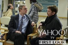 Check Out the First Images From FX's Fargo - Martin Freeman and Billy Bob Thornton - shot around Calgary