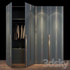 Bedroom Cupboard Designs, Bedroom Closet Design, Bedroom Wardrobe, Cabinet Furniture, Home Decor Furniture, Furniture Design, Wall Wardrobe Design, Classic House Exterior, Dressing Room Design