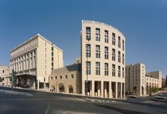 Safdie Architects, Lissoni Associati, hiepler, brunier,, Timothy Hursley · Mamilla Hotel