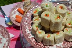 Great Tips for a Beautiful Garden Tea Party!Here is a site that gives a beautiful selection of tea party foods.