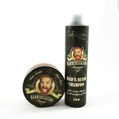 Barberstation Pomade and Hair & Beard Shampoo - The Greaser and the Doll webshop