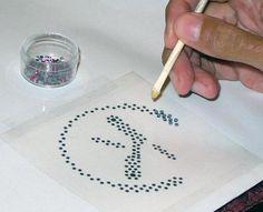 How to Make Your Own Custom Rhinestone Pattern