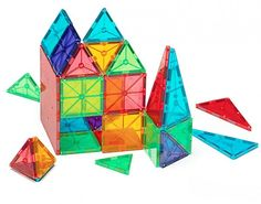 "MagnaTiles®  ""Where math, science, and creativity meet!"" www.theoldschoolhouse.com"