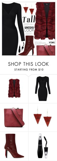 """""""Signature Power Look(yoins 7)"""" by meyli-meyli ❤ liked on Polyvore featuring Vetements, Lancôme, yoins, yoinscollection, loveyoins and powerlook"""