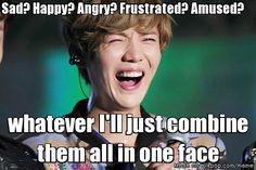 Mixed Emotions ... Luhan