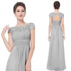 Long-Chiffon-Maxi-Lace-Evening-Bridesmaid-Formal-Ball-Party-Prom-Dress-Size-6-16