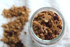Tart Cherry & Walnut Granola   via Channeling Contessa