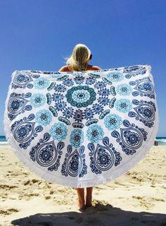 Hippie Round Beach Towel – Sweat In Fashion