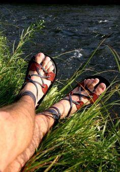 Traditional Gladiator Sandal by TreadLightGear on Etsy, $85.00