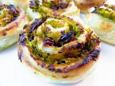 Dolci al Pistacchio, Zucca, Cocco e Uvetta  Pistachio, Pumpkin, Coconut and Raisin Pinwheels