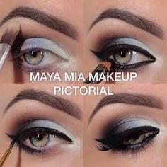 Learn about makeup step by step Kiss Makeup, Glam Makeup, Makeup Geek, Makeup Tips, Beauty Makeup, Hair Makeup, Makeup Ideas, Gorgeous Makeup, Love Makeup