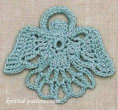 Angel: Free Crochet Motif Pattern