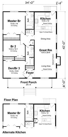 First Floor of Plan ID: 27794