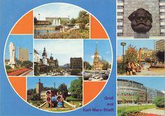 Gruß aus Karl-Marx-Stadt, DDR