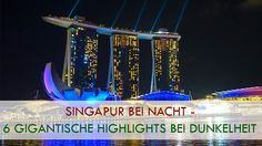 Singapur bei Nacht Titelbild