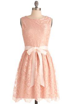 Looking Like a Million Bucks Dress in Blush