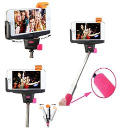 Best Hot Pink Wireless Selfie stick http://www.amazon.com/Smartek18-Wireless-Bluetooth-Extendable-Self-portrait/dp/B00PJC8C7W