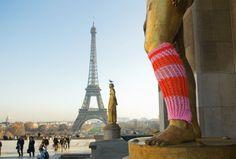 Guerrilla #knitting
