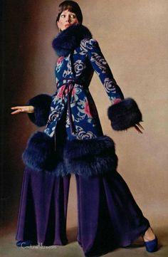 Marc Bohan for Christian Dior, 1970 Vintage Dior, Moda Vintage, Vintage Couture, Vintage Mode, Vintage 70s, Vintage Style, Seventies Fashion, 70s Fashion, Fashion History