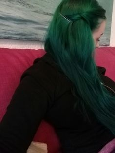 Alpine green hair directions