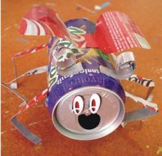 """Earth Day Craft:  """"Litter Bugs"""""""