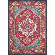 Safavieh Monaco Red Area Rug & Reviews | Wayfair