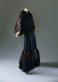 Evening Coat Coco Chanel, 1933-1935 The Metropolitan Museum of...