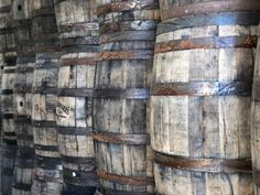 Reclaimed Kentucky Bourbon Whiskey Barrels Full Size 53 | Etsy Bourbon Whiskey, Whiskey Barrels, Jack Daniels Barrel, White Oak Barrels, Buffalo Trace, Jim Beam, Investment Property, Home Brewing, Distillery