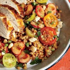 Whole-Grain Kamut and Cherry Salad | MyRecipes.com