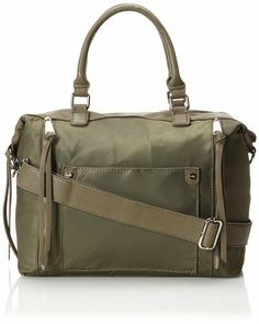 Co-Lab by Christopher Kon Dee Cross Body Satchel - Have this bag, but it's a way nicer olive green than this