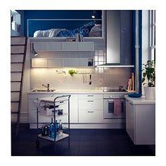 ÖSTHAMRA Pensile con 2 ante a vetro - IKEA