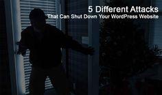 5 Different Hack Attacks That Can Shut Down Your WordPress Website http://www.onlinestoreideas.com/category/diy-online-store/