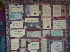 A real protest quilt.