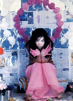 Whistles Muse: With a wardrobe as experimental as her music, Bjork's visionary style continually blurs the lines between art and fashion, concept and commercial.