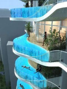 Pool Balkon