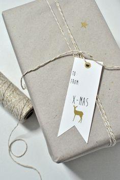 Image of Etiquettes cadeau / Noël