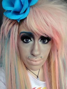 extreme fashion and make up fails - Google Search