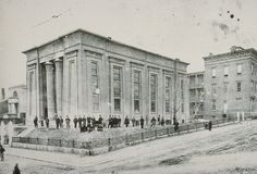 Egyptian building MCV Hospital circa 1880