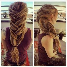 Amazing dreadlocks ❤