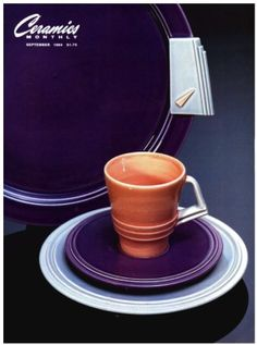 Ceramics Monthly September 1984 Issue Cover, On the Cover:  Serving Platter by Michael Lambert