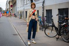 The Spring '18 shows have kicked off in Copenhagen. See what the most stylish Danes are wearing, here.