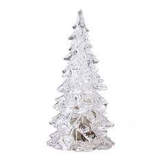 conception cristal arbre de Noël coloré led – USD $ 3.99