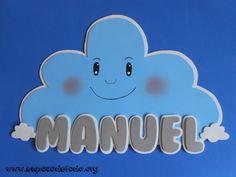 www.unpocodetodo.org - Cartel de Manuel - Carteles - Goma eva - baby - bebe - crafts - manualidades - 4