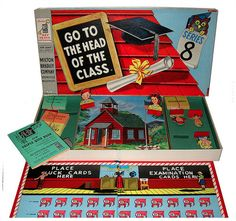 Vintage Boardgames from Modern Kiddo